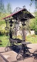 Мангалы, кованый мангал, садовой кованой мебели - Халибер.
